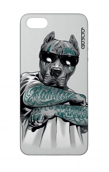 Cover Bicomponente Apple iPhone 5/5s/SE  - Pitbull tatuato