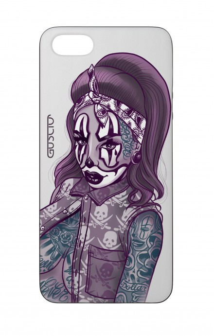 Cover Bicomponente Apple iPhone 5/5s/SE  - Pin Up Clown Chicana