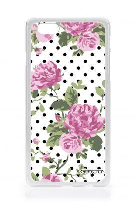 Cover Samsung Galaxy Core 2 - Rose e pois