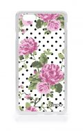 Cover Samsung Galaxy Core 2 - Rose e pois