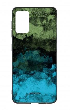 Cover Bicomponente Samsung S20Plus - Mineral BlackLime