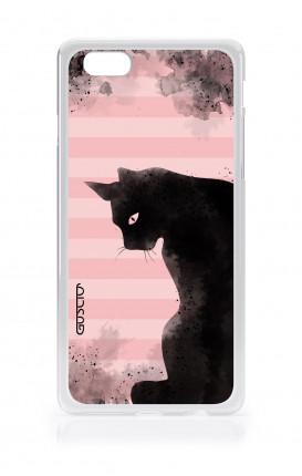 Cover Apple iPhone 6/6s plus - Gatto nero