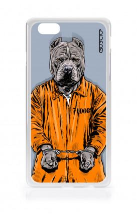 Cover TPU Apple iPhone 6/6s plus  - Cane carcerato