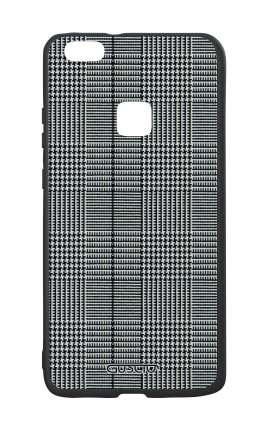 Huawei P9Lite White Two-Component Cover - Glen plaid