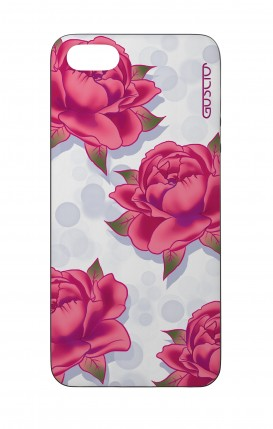 Cover Bicomponente Apple iPhone 5/5s/SE - Pattern di rose