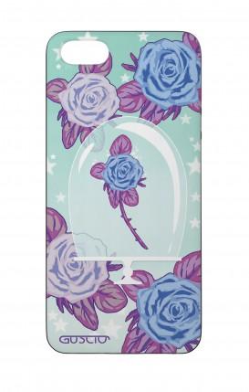 Cover Bicomponente Apple iPhone 5/5s/SE - Rosa incantata