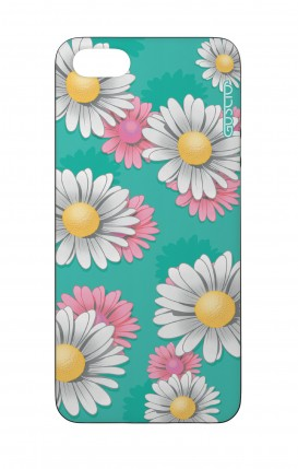 Cover Bicomponente Apple iPhone 5/5s/SE - Margherite Pattern