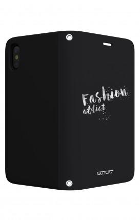 Cover Bicomponente Apple iPhone 7/8 Plus - Peonie trasparenti