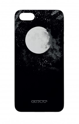 Apple iPhone 5 WHT Two-Component Cover - Moon