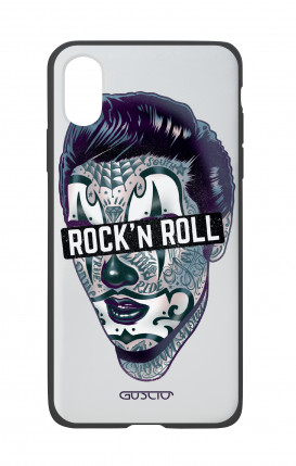 Apple iPhone X White Two-Component Cover - The Rock'n'Roll Clown King