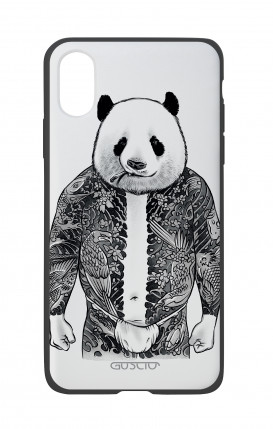 Apple iPhone X White Two-Component Cover - Panda Yakuza