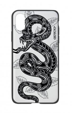 Cover Bicomponente Apple iPhone X/XS - Serpente Tattoo