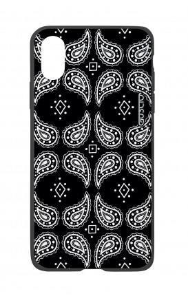 Apple iPhone X White Two-Component Cover - Bandana pattern