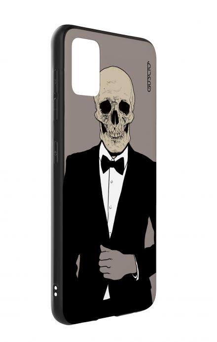 Samsung A51 Two-Component Cover - Tuxedo Skull