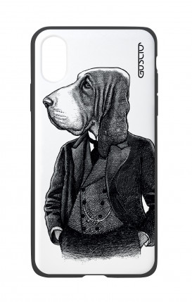 Cover Bicomponente Apple iPhone X/XS - Cane in panciotto