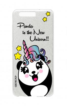 Cover GLITTER Huawei P10Plus SLV - Pandacorno trasperente