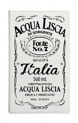 """Cover Universal Casebook MEDIUM for 4.7""""-5.1'' display - Acqua Liscia"""