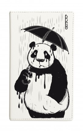 "Universal Casebook MEDIUM for 4.7""-5.1'' display - Panda Rain"