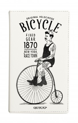 """Cover Universal Casebook MEDIUM for 4.7""""-5.1'' display - Bicycle"""