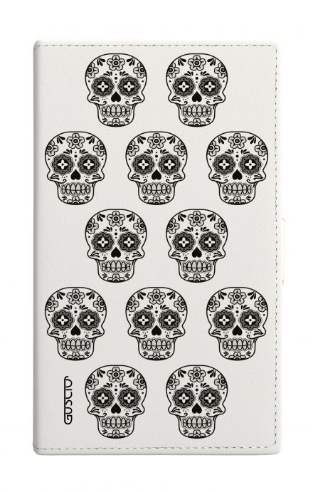 Cover Universal Casebook size3 - Nude Mexican Skulls