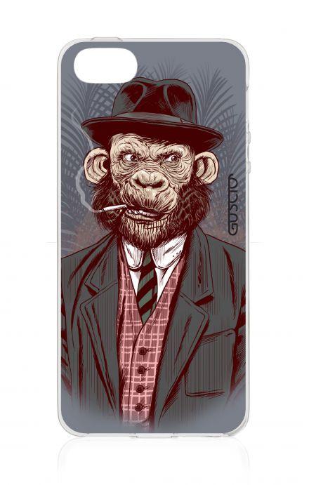 Cover Apple iPhone 5/5s/SE - Monkey Gentleman