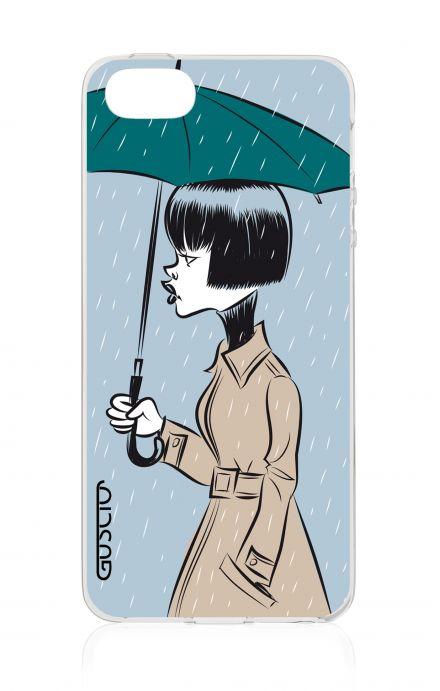 Cover Apple iPhone 5/5s/SE - Rain Girl