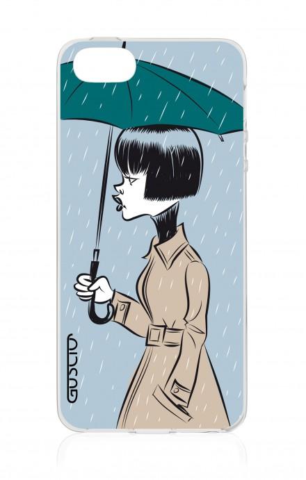 Cover TPU Apple iPhone 5/5s/SE - Sotto la pioggia