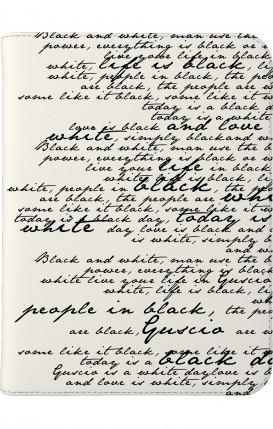 """Case UNV TABLET 7-8"""" - B&W Letter"""