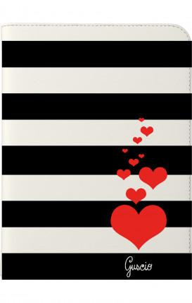 "Cover Universal Tablet Case per 7/8"" display - Loving Stripes"