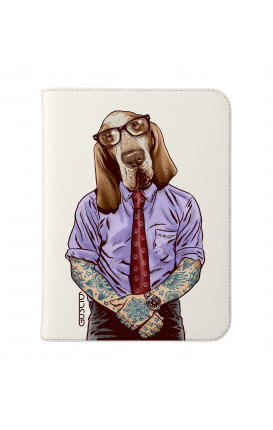 """Cover Universal Tablet Case per 7/8"""" display - Italian Hound bianco"""