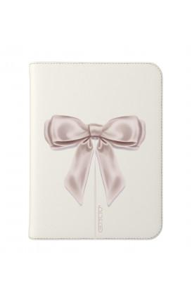 """Cover Universal Tablet Case per 7/8"""" display - Fiocco di raso bianco"""