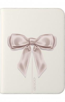 "Cover Universal Tablet Case for 7-8"" - Fiocco di raso bianco"