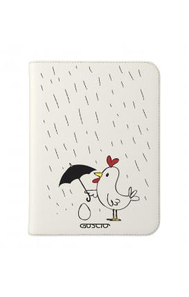 "Cover Universal Tablet Case per 7/8"" display - Ti proteggerò bianco"