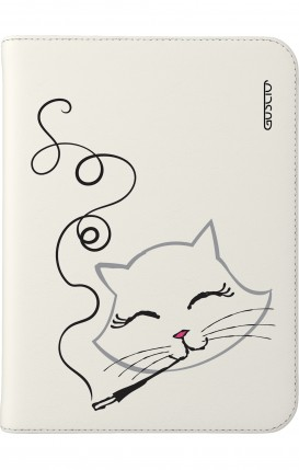 "Case UNV TABLET 7-8"" - Kitty smoke"