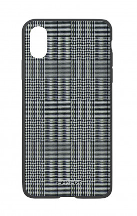 Apple iPhone X White Two-Component Cover - Glen plaid