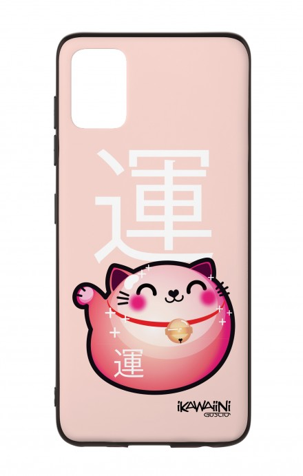 Samsung A51 Two-Component Cover - Japanese Fortune cat Kawaii