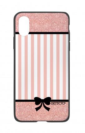Cover Bicomponente Apple iPhone X/XS - Rosa romantico
