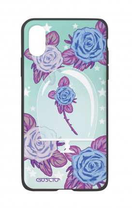 Apple iPhone X White Two-Component Cover - Enchanting Rose