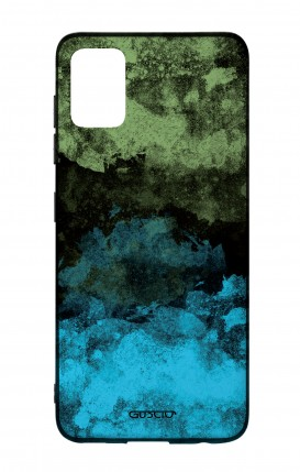 Samsung A51 Two-Component Cover - Mineral Black Lime