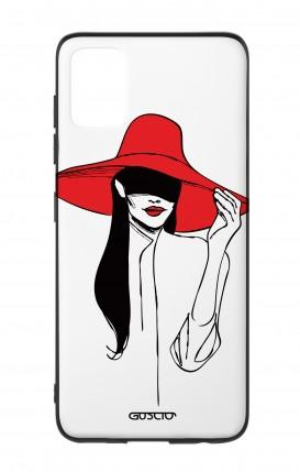 Cover Bicomponente Samsung A51 - Cappello rosso
