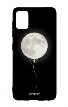 Cover Bicomponente Samsung A51 - Palloncino lunare