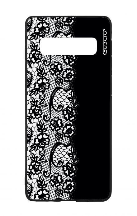 Cover Samsung Galaxy Core Prime - Fiori zebrati