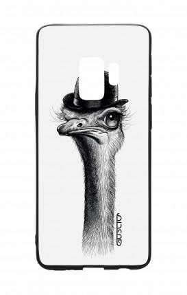 Cover Bicomponente Samsung S9 - Struzzo con bombetta