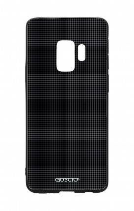 Cover Bicomponente Samsung S9 - Mini quadretti