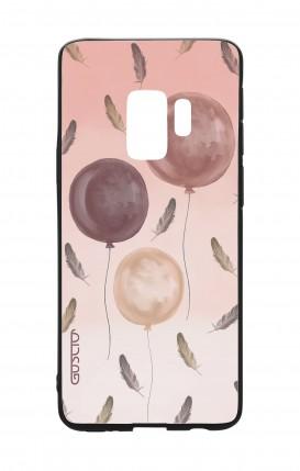 Cover Bicomponente Samsung S9 - 3 Palloncini rosa
