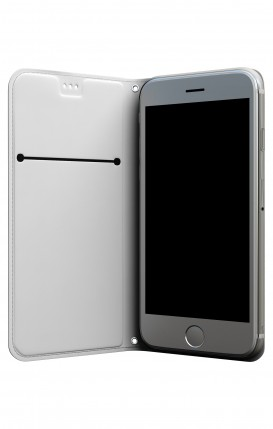 Apple iPhone 6 PLUS WHT Two-Component Cover - WHT Satin White Ribbon