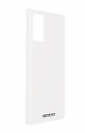 Cover Bicomponente Samsung J6 2018 WHT - Teschio in Smocking