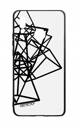 Huawei P20Lite WHT Two-Component Cover - Geometric shapes