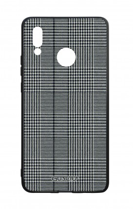 Huawei P20Lite WHT Two-Component Cover - Glen plaid