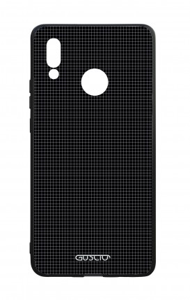 Huawei P20Lite WHT Two-Component Cover - Small Checks